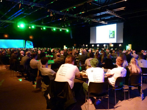 Norge, næringslivet og bransjen i glasskula