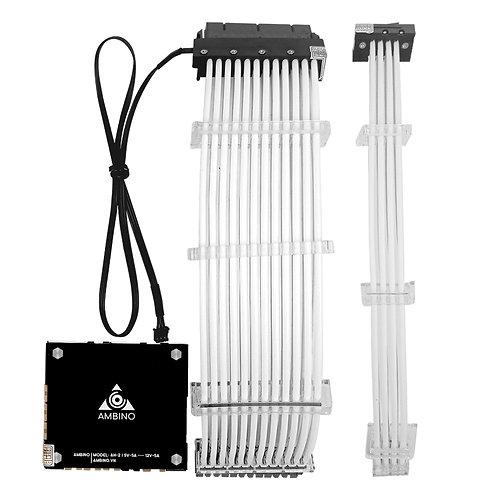 Bộ dây nguồn RGB 24P+8P VGA Ambino RainPow
