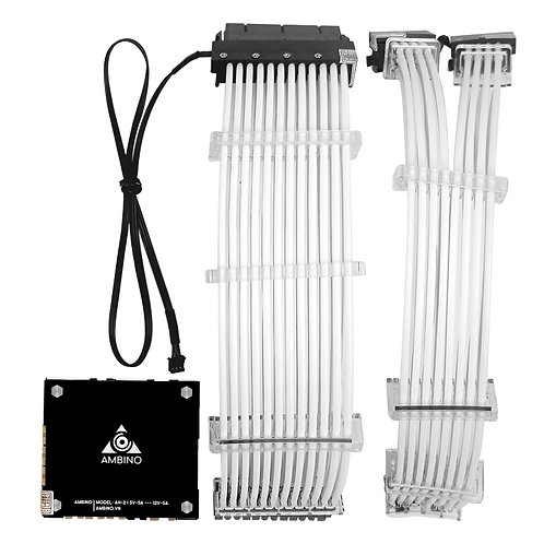Bộ dây nguồn RGB 24P+ 2x8P VGA Ambino RainPow
