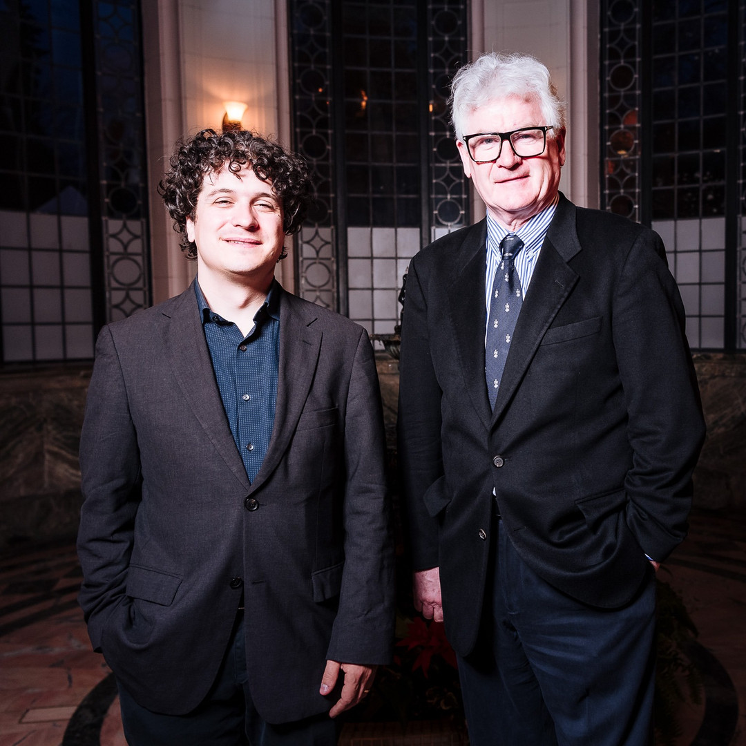 Tenor, John McDermott and Violinist, Drew Juraka