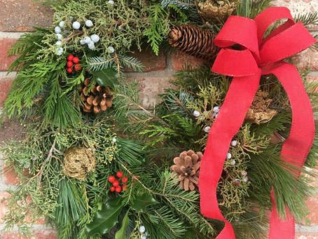 Christmas Wreath Workshops Available!