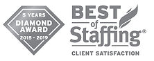 2019 Best in Staffing - Diamond Award Cl