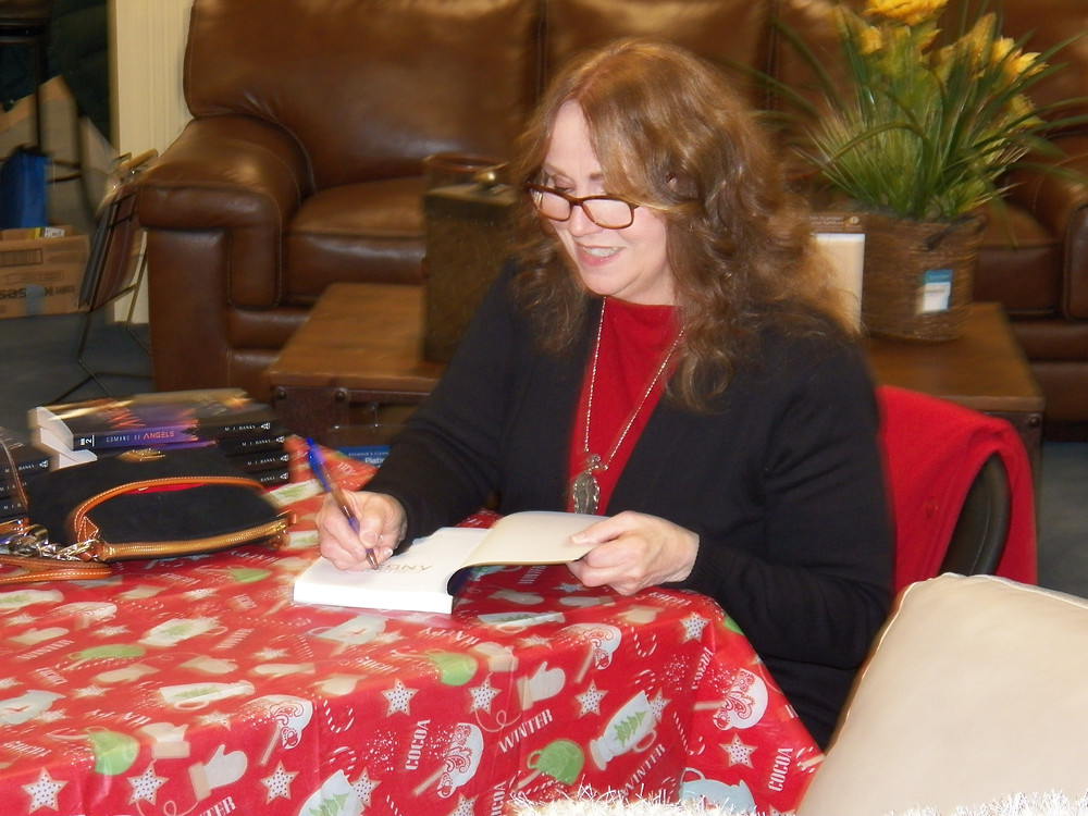 Maureen Banks, author of the Coming of Angels trilogy