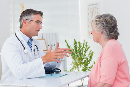Discuss plan of care to patient