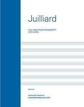 JULIARD MANUSCRIPT COVER 8-2019_Layout 1
