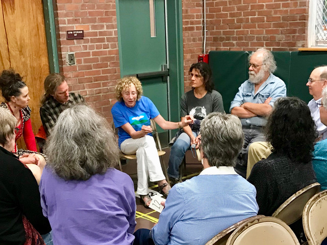 Small group Q&A with Debbie Roth-Howe