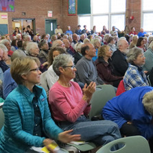Record crowds at our Community Forum