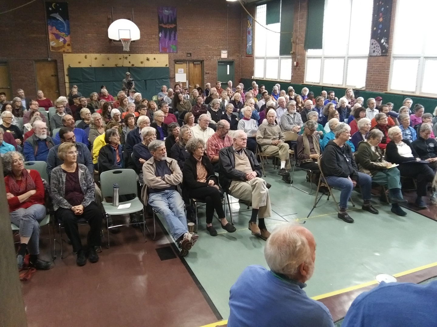 Audience at Community Forum
