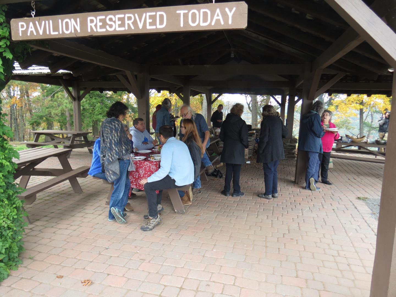 Lunch at Mt. Sugarloaf