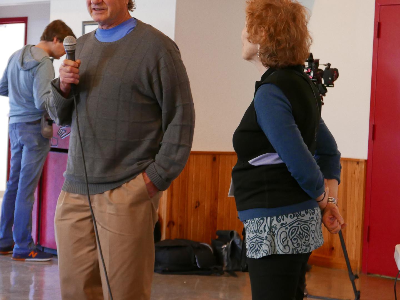 Jim and Sharon at Shriners
