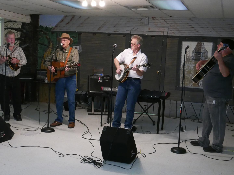 Bluegrass jam at Hemphill