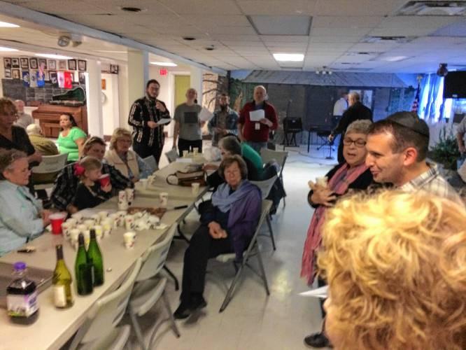 Shabatt service at Hemphill Community Center event