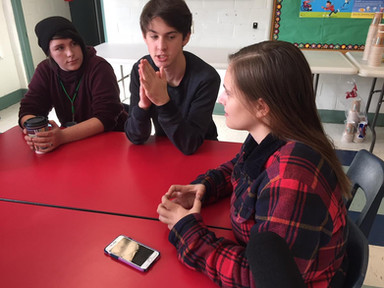 Teens at Community Forum