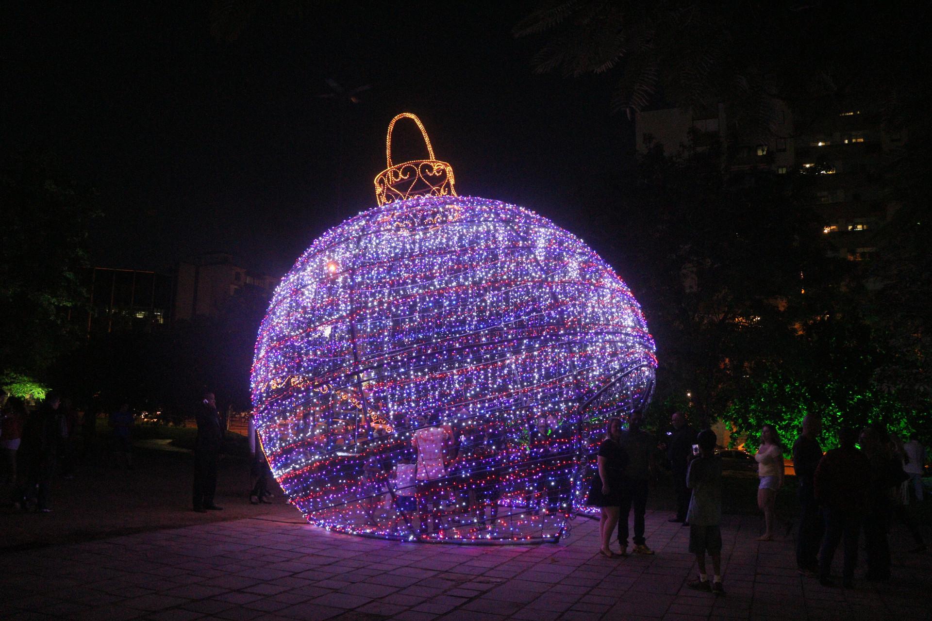 Bola de natal (2016)