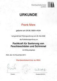 Wasserschadensanierung Köln