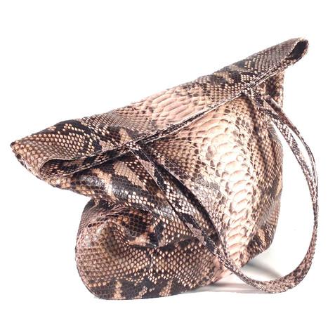 Genuine Python skin handbag