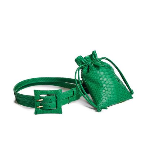 Genuine python skin accessories