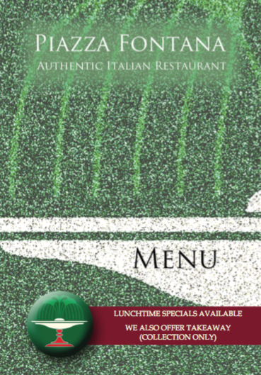 New Menu April 2019