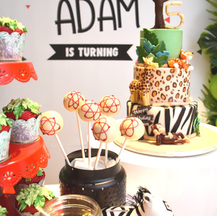 Zoo & Science Themed Party