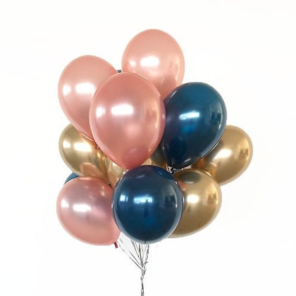 Bouquet of 12 Helium Balloons