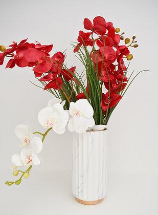 Orchids Arrangement in Ceramic Jar