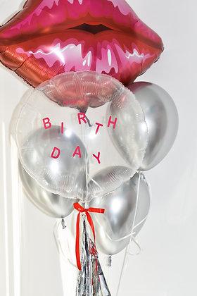 Girl Happy Birthday Balloon Bouquet