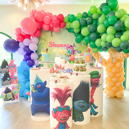 Trolls Themed Party