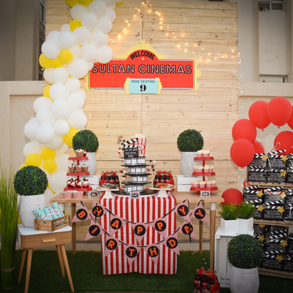 Cinema Themed Party