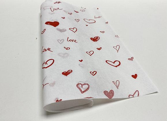 נייר עיתון ״לבבות״