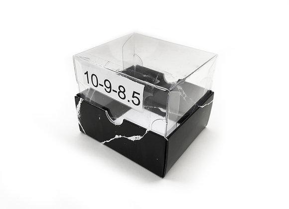 תחתית קרטון מכסה שקוף פנימי לבן 10-9-8.5