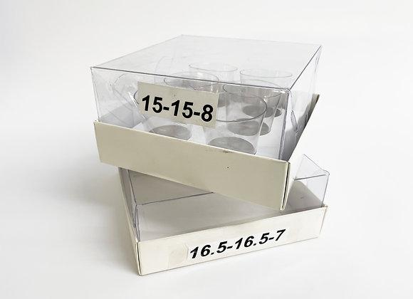 16.5-16.5-7 תחתית קרטון מכסה פנימי לבן