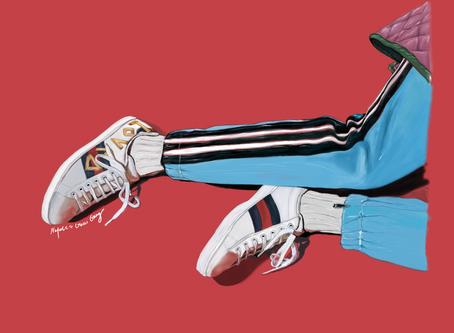 Gucci Sneaker Illustration