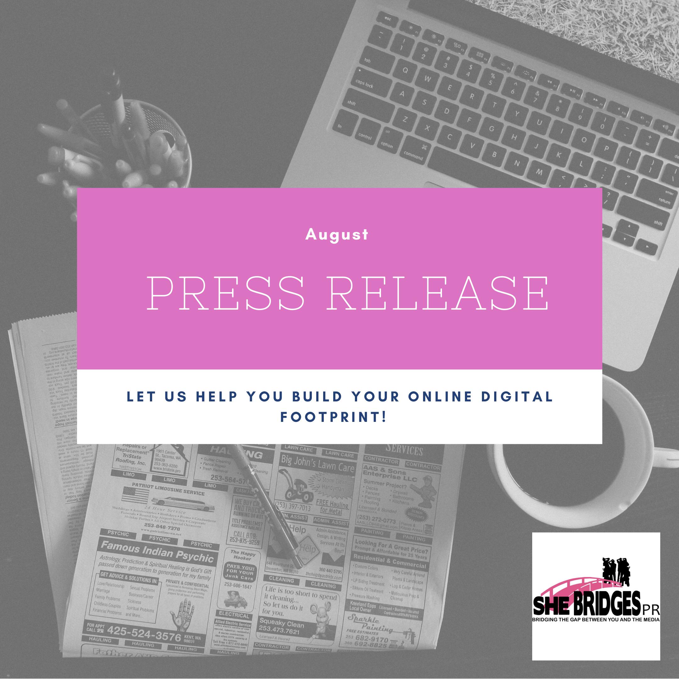Written Press Release
