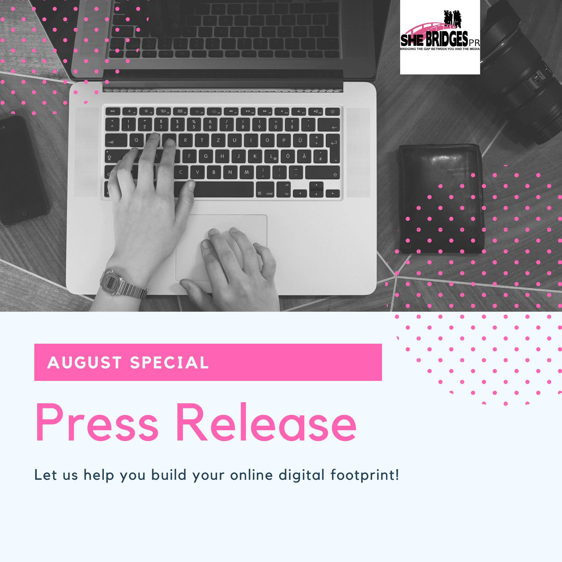 Written Press Release Distributed