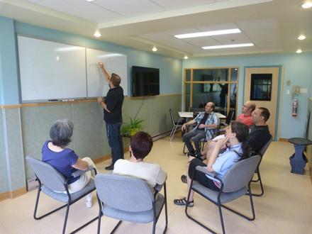 Notre salle de thérapie de groupe