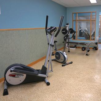 Salle d'exercices