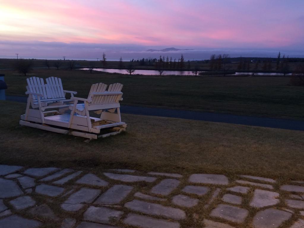 Nos merveilleux couchers de soleil