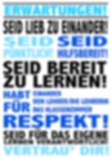 German classroom poster