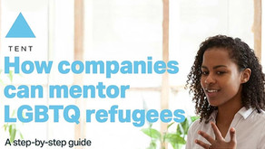 ORAM Announces the Release of a Groundbreaking Guide on Corporate Mentorship for LGBTQ Refugees