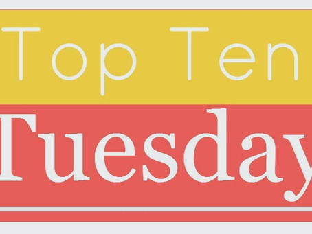 Top Ten Tuesday: The Last Ten Books That Came Into My Possession