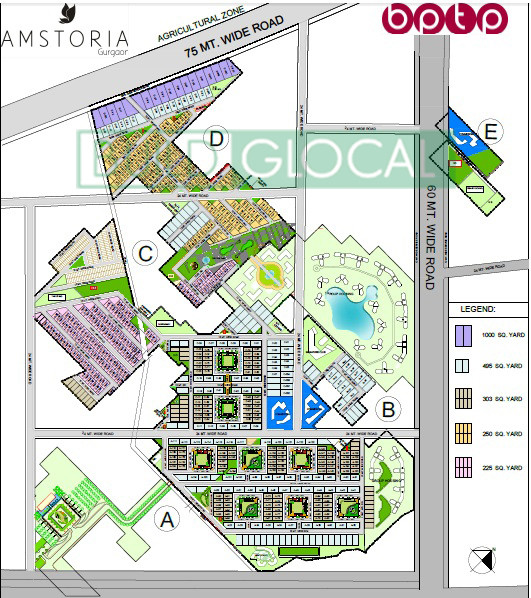 Amstoria Country Floors -site plan