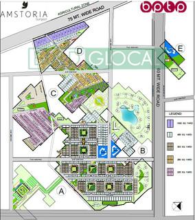 Amstoria Country Floors -site plan