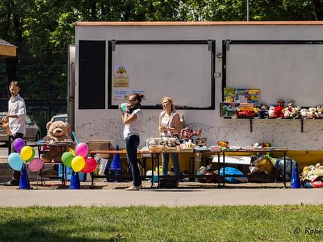 Festyn charytatywny w Krakowie - fotorelacja