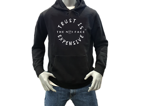 Trust is Expensive Hoody - Black