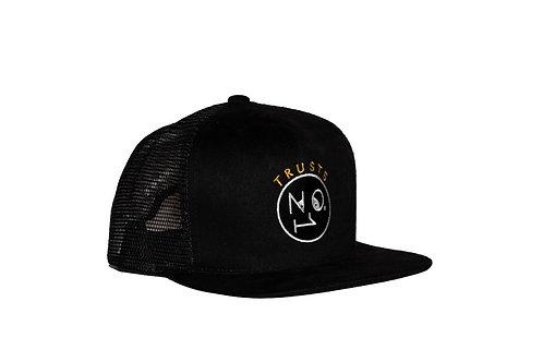 Trusts No1 Mesh Snapback Cap - Black