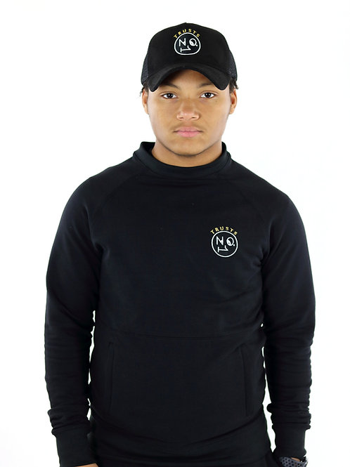 Trusts No1 Unisex Tracksuit - Black