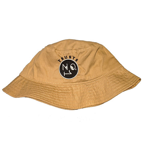 Trusts No.1 Bucket hat - Camel