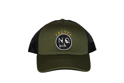 Trusts No.1 Foam Cap - Khaki & Black