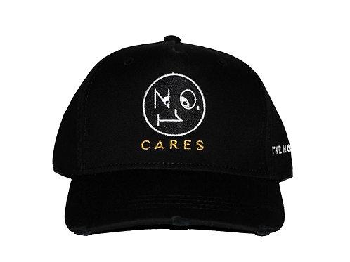 No.1 Cares distressed cap - Black