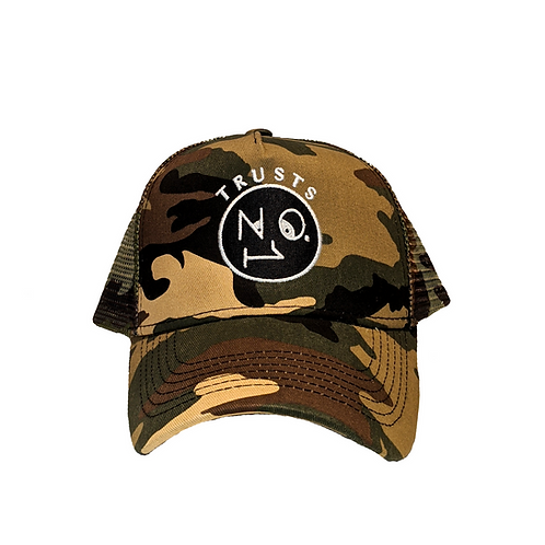 Trusts No1 Camo mesh Cap
